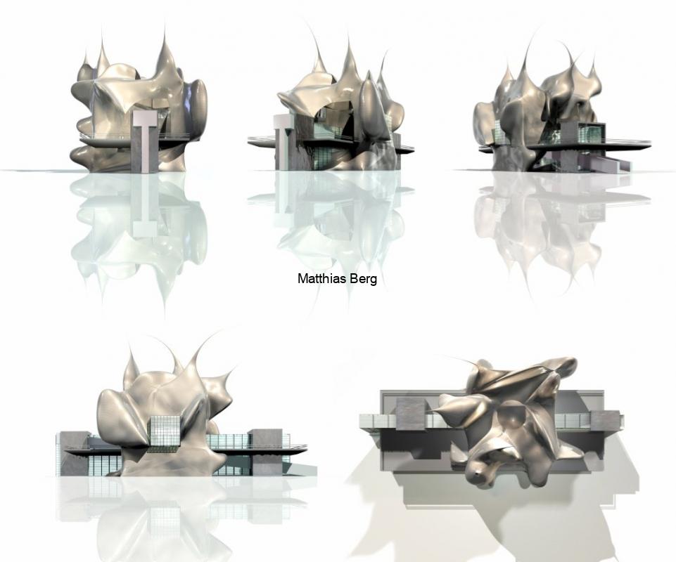 Entwurf für eine Gedenkstätte