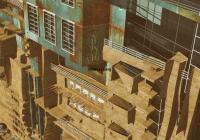 Fassade-schrägoben