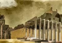 Zelthaus Tempel