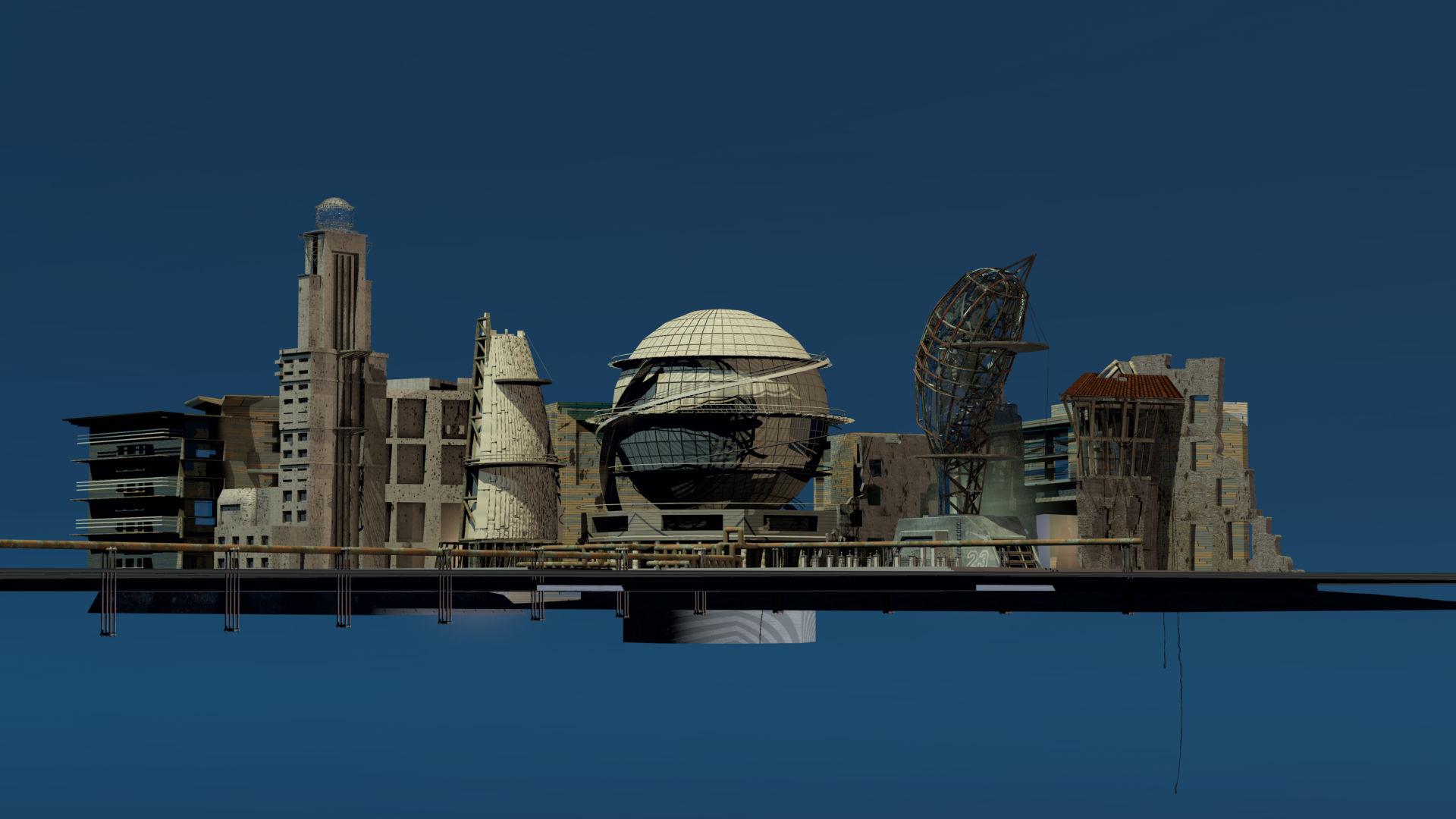 city ansicht Eiland fern0014